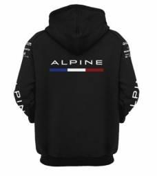 Moletom Fórmula 1 Alpine Team Preto e Azul