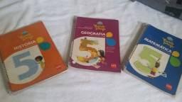 Livrio  Mundo Amigo Matematica -Historia e Geografia 5 Ano