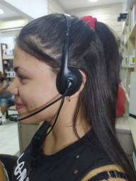 Headset Bright 0010 office, Com Microfone