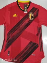 Camisa Bélgica Home - Jogador - Adidas 20/21 - Tamanho: G