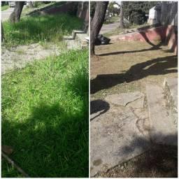 Cortes de grama , limpeza de terrenos , jardinagens , roçadas e pequenas podas