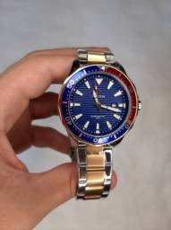 Relógios Masculino de Pulso Luxo Wwoo.r Original Analógico Dourado Prova de Água Garantia.