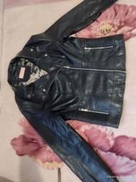 Jaqueta de couro importada, nunca usada