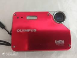 Câmera Digital Olympus X-560wp À Prova D' Água