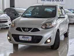 Nissan March 1.6 SL Flex Xtronic 19/20 Prata!