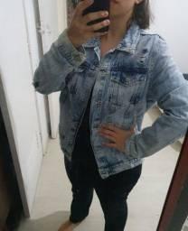 jaqueta jeans c&a G