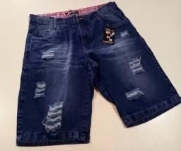 Bermudas jeans so as top