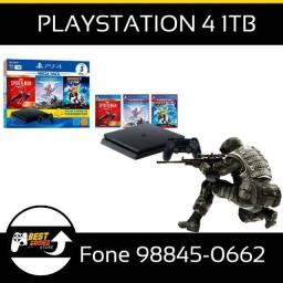 Playstation 4 Bundle 3 Jogos novo lacrado com garantia