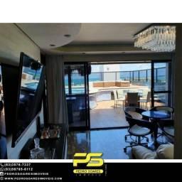 Cobertura toda mobiliada duplex com 5 dormitórios à venda, 312 m² por R$ 2.100.000 - Tamba