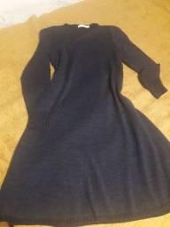 Vestido em lã tamanho M