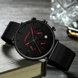 Zera Estoque - Relógio Masculino - Moda Casual e Fashion (Produto novo)
