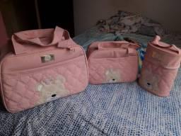 Kit de bolsa da Ursinha princesa  novo