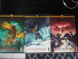Coleção Os Herois do Olimpo Rick Riordan