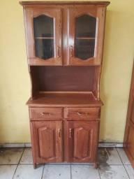 Armário de Cozinha 2 Portas Madeira Angelim