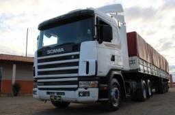 Scania 124 R400 6x2 - Carreta Graneleira LS