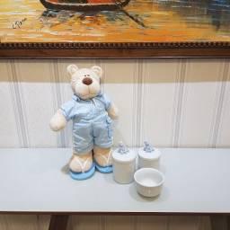 Título do anúncio: Kit higiene + Urso decoração
