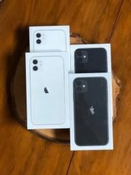 11 64GB, Lacrado, Anatel, 1 ano de garantia Apple