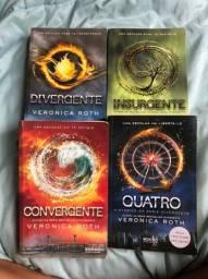 Trilogia divergente + Livro Quatro
