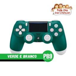 Título do anúncio: Controle Sony Dualshock PS4 Verde e Branco