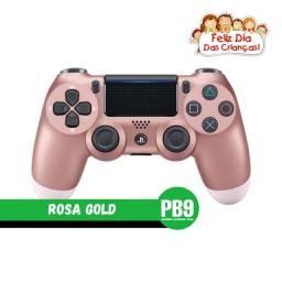 Título do anúncio: Controle Sony Dualshock PS4 Rosa Gold