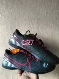 Promoção 2 pares 150 reais CR7 Mercurial lançamento
