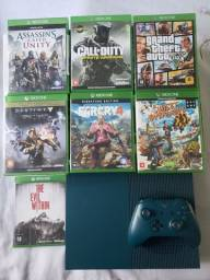Xbox one S verde militar
