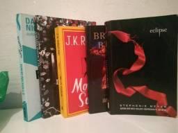 5 livros de ficção - R$20