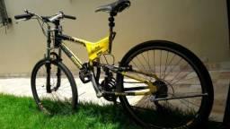 Bike Aro 26 dupla suspensão