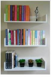 Prateleira organizadora de livros