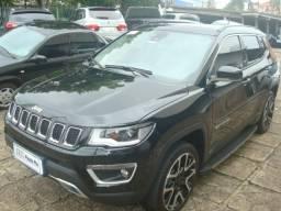 Jeep compass Limited 4x4 diesel 2018 TOP + Teto + Pacote HIGH Tech - 2018
