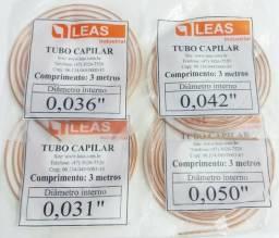 Tubo Capilar (0,31/0,36/0,42/0,50mm) 3m - A partir d R$ 14,00