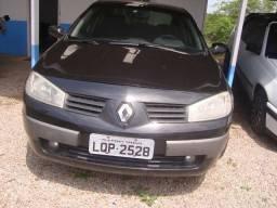 Megane Sedan 2.0 Preto 2009 completo - 2009