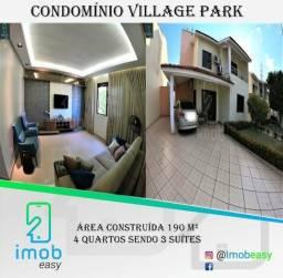 Vendo Condomínio Village Park, 4 quartos sendo 3 suítes, 4 vagas de garagem