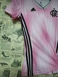 Camisa Rosa Flamengo
