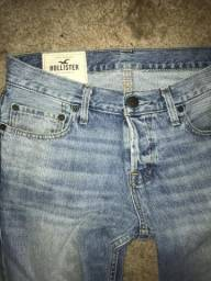 Calça jeans hollister tamanho 40