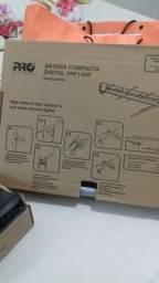 Antena compacta digital e Receptor TV digital terrestre