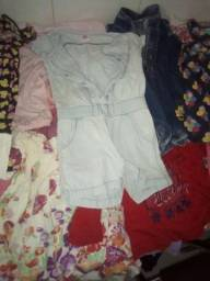 Lote de roupas menina 6/7 anos
