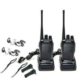 Kit 2 Rádio Comunicador Walk Talk Baofeng Bf-777s