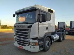 Scania R 440 6x4 2014 Automático Branca - Selectrucks