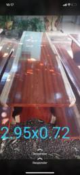 APROVEITEM mesas com bancos rústicos