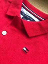 Camisa Infantil Masculina Tommy Hilfiger Nova Original