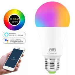 Lâmpada de Led RGB compativel com Alexa e google Home VBS