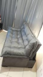 Sofá cama reclinável luana (fofão)