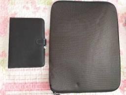 Capa para notebook + teclado para tablet