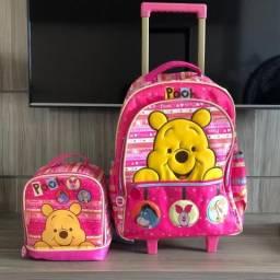 Bolsa escolar ursinho Pooh