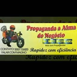 Moto propaganda. .leia a descrição