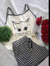 Conjuntos pijamas/baby doll