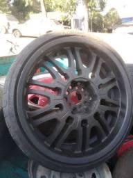 Rodas 5 furos aro 20 multi furos com pneus