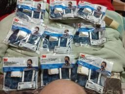 9 Máscaras PFF2/N95  3M (com filtro)