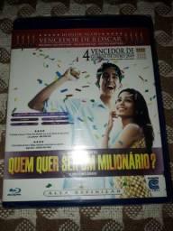 Blu ray filme Quem quer ser um milionário. Oscar. Lacrado